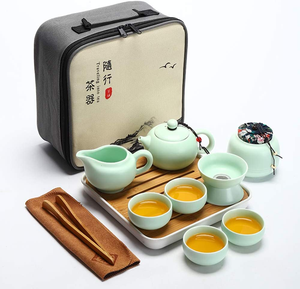 DOMALA China Kung Fu Tea Japanese Ceramic Set Limited time trial price Travel Cup Ranking TOP14