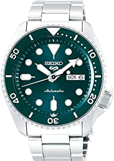 SRPD61 Seiko 5 Sports Men's Watch Silver-Tone 42.5mm Stainless Steel