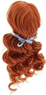 Toygogo 1/3 BJD Doll Full Wig Anime Girl Cosplay 9-10inch 22-24cm for Night Lolita SD DZ DOD LUTS, Fantasy Curly Hair, Brown