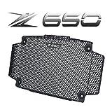 Z650 Motocicletta Griglia Radiatore Acqua Raffreddamento Custodia Alluminio per Kawasaki Z650 2017-2020