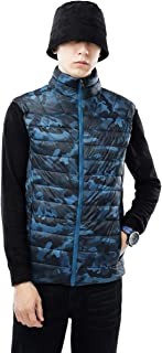 USHARESPORTS Vest for Men Vests Outerwear Winter Puffer Quilted Gilet Sleeveless Outwear for Golf and Sports
