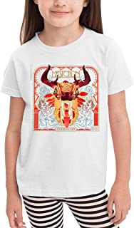 Girls&boy Casual Mastodon The Hunter Shirs