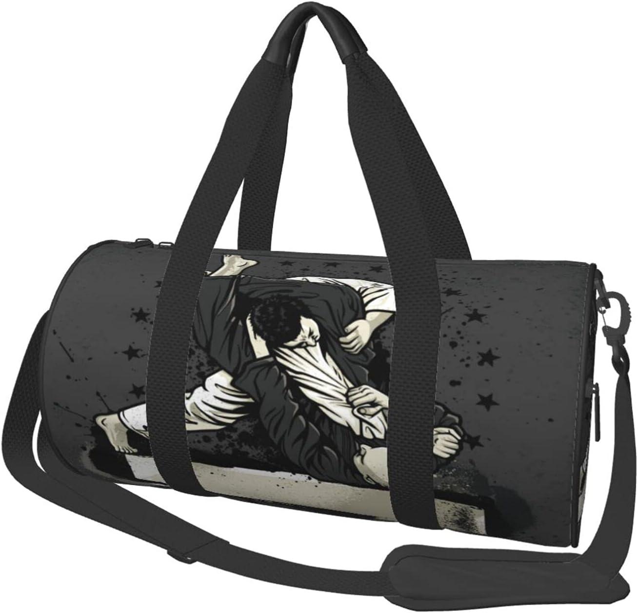 ZXZNC Brazilian Max 63% OFF Jiu-Jitsu Warrior Gym Duffel Women Free Shipping New T Bag For Men