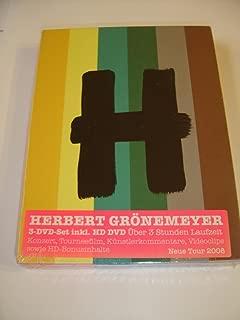 Herbert Grönemeyer 12 Live - Neue Tour 2008 / 2 DVD + HD DVD [European DVD Region 2 PAL]