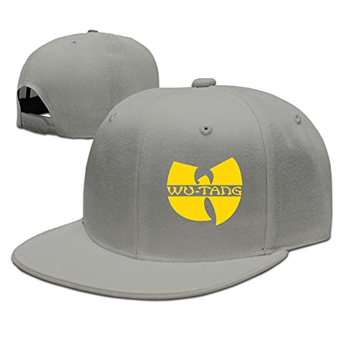 2b2cf6dc1bf Wu Tang Clan Classic Yellow Logo Plain Adjustable Cap Snapback Hats
