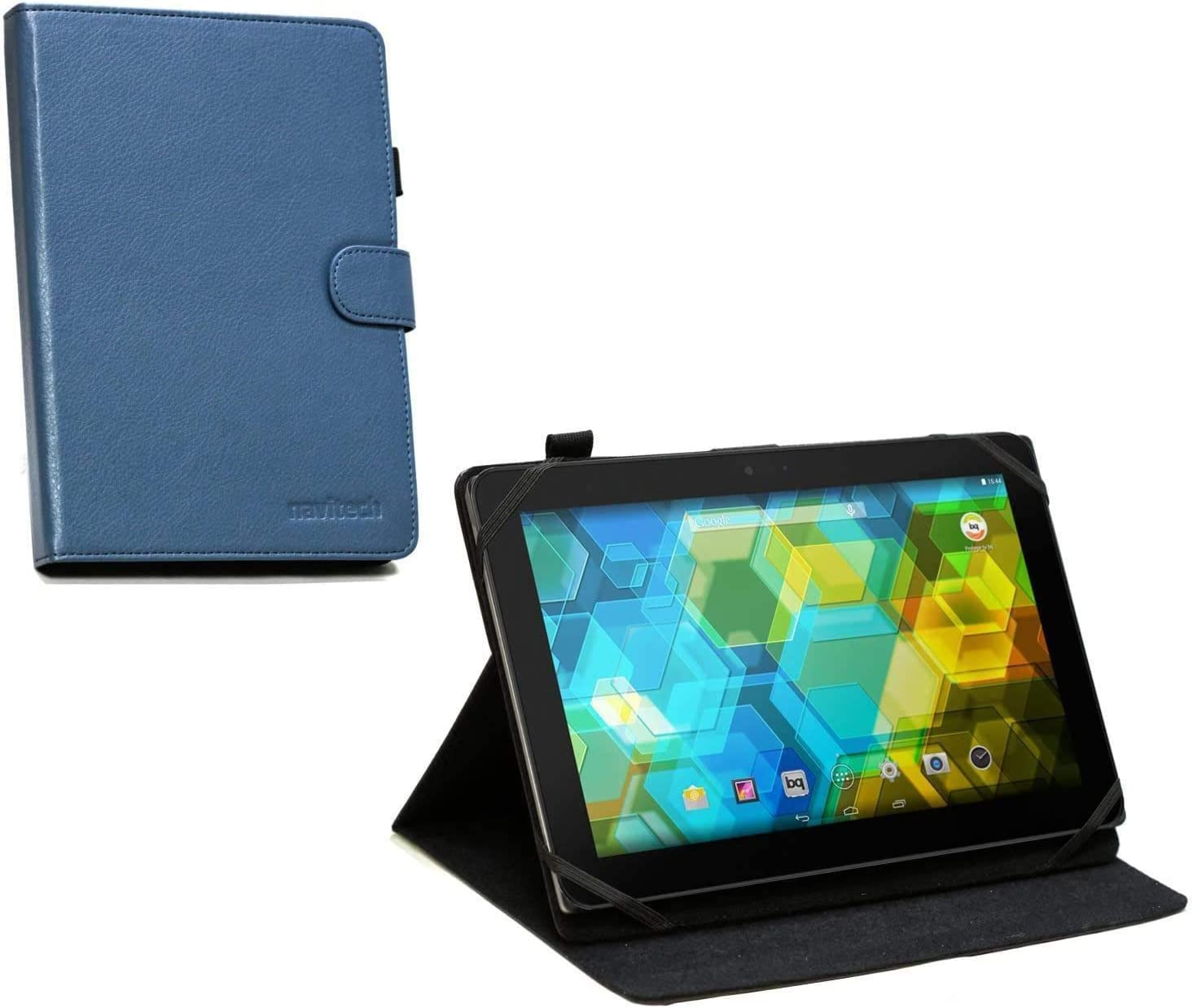 Navitech Blue Leather Tablet New life Case Discount is also underway Dragon with Touch - Compatible