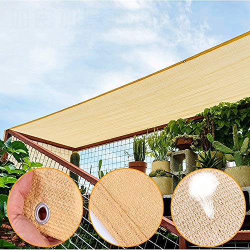 YUDEYU Efficient Shade Net 90% Sun Protection Privacy Net Patio Fence Mesh Encryption, Customize Any Size (Color : 1.73x15.24m)