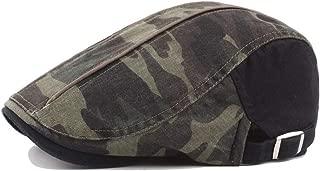 Bin Zhang Sun Hat Beret Cap Spring Autumn Wool Ladies Fashion Men Washed Old Camouflage Cap Outdoor Jungle