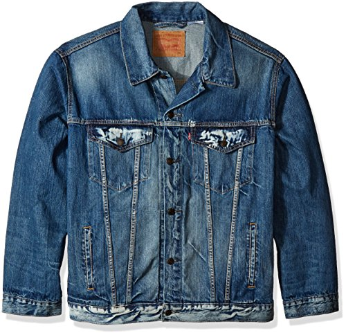 Levi's Men's Big & Tall Trucker Jacket, Danica, 4XL