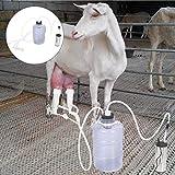 Naroote    Extractor de Leche elctrico, Equipo de ordeo elctrico de Vaca de Cabra de 5L Mquina de ordeo porttil con Bomba de Pulso de vaco(Uso de ovejas)
