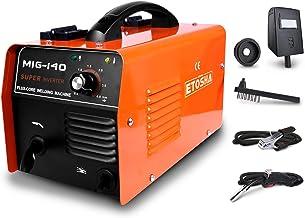 ETOSHA MIG 140 Welder 140Amp Flux Core Wire Gasless Automatic Feed Welder Portable Flux Core Wire No Gas MIG 140 Welder Ma...