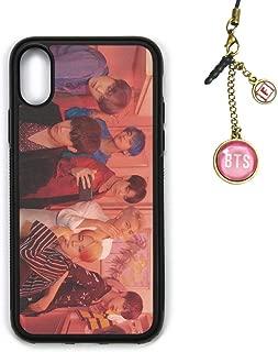 Fanstown Kpop BTS Bangtan Boys iPhone case MAP of The Soul : Persona + Album Logo Pendant (I09)