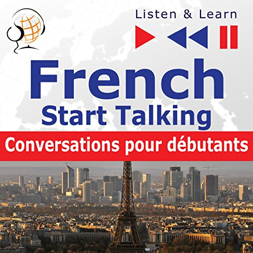 French Start Talking - Conversations pour débutants. 30 Topics at Elementary Level A1-A2 cover art