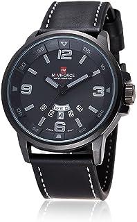 Nextstart Sports Watches Men's Quartz Hour Date Clock Man Leather Strap Military Army Wrist watch
