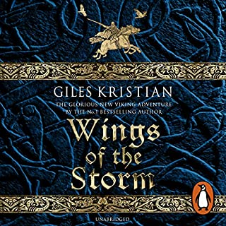 Wings of the Storm     The Rise of Sigurd 3              By:                                                                                                                                 Giles Kristian                               Narrated by:                                                                                                                                 Philip Stevens                      Length: 12 hrs and 51 mins     27 ratings     Overall 4.6
