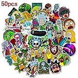 Tinyuet Pack d'Autocollants, 50 Pcs d'Autocollants Vinyliques Imperméables, pour Téléphones...