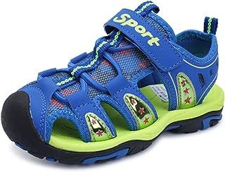 HOBIBEAR Kids Running Shoes Lightweight Mesh Athletic Sneakers