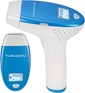 TUMAKOU-T6 IPL Permanent Hair Removal System,Home Use Face&Body Painless Hair Removal Device,400000 Pulses,LCD Screen,Hair Removal Epilator for Women & Man (TUMAKOU-T6 IPL Hair Removal Device)