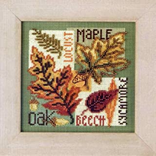 Fall Leaves - Cross Stitch Kit