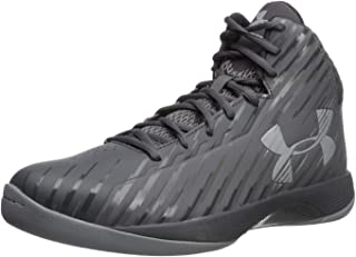 Under Armour Men's Jet Mid Basketball Shoe, Black/Steel/White
