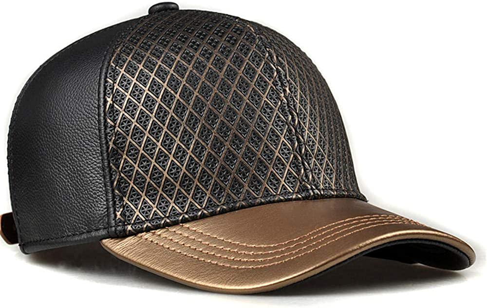 Men's Leather hat Autumn and Very popular Fashion Winter Ranking TOP4 Outdoor