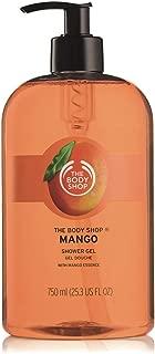 The Body Shop Mango Shower Gel, Paraben-Free Body Wash, Mega-Size, 25.3 Fl. Oz.
