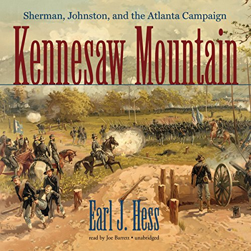 Kennesaw Mountain audiobook cover art