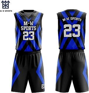 25e0d5ce649d M-W Sports Quick Dry Sublimated Basketball Uniform Trainning Tank Top Set  Sports Shorts