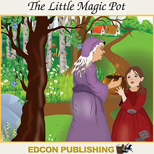 The Little Magic Pot audiobook cover art