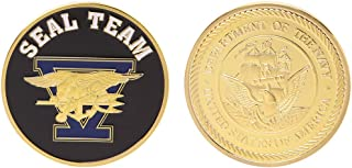 Ladaidra Commemorative Coin Seal Team United States Navy Collection Souvenir Arts Gifts