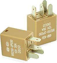 2 Pack Multi-Purpose Power Relay 12V 4PIN 35A OEM Part Number 95230-2P030