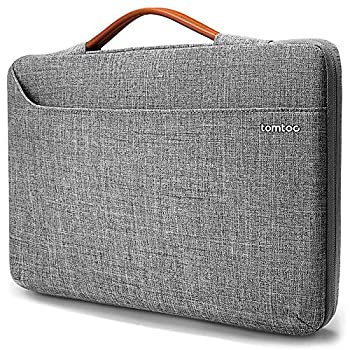 tomtoc 360 Protective Laptop Sleeve Case Bag for 15-16 Inch MacBook Pro A2141 A1398 Dell XPS 15 Surface Book 3/2 15 The New Razer Blade 15 ThinkPad X1 Extreme Gen 2 15