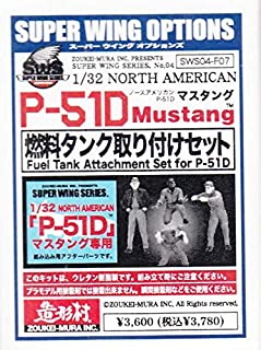 Zoukei-Mura ZKMSWS004-F07 1:32 Fuel Tank Attachment Figure/Scene Set (for use with The P-51D Mustang kit) [Model KIT Accessory]