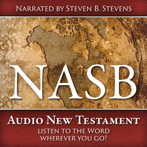 NASB Audio New Testament audiobook cover art