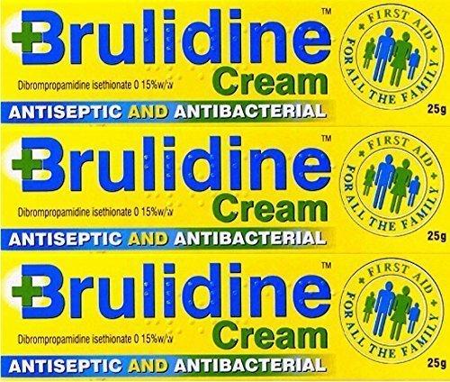 Brulidine Cream 25g x 3 Packs