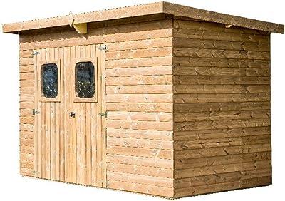 ramasser bf56d 87cb4 MADEIRA - MADEIRA - Abri de jardin en bois COMBLOUX traité ...