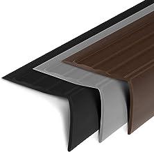 Traprandprofiel   PVC traprandprofiel in L-vorm   Elegante trapbescherming in verschillende kleuren en maten voor alle soo...
