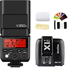 Godox V350S TTL 2.4G GN36 HSS 1/8000s Camera Flash Speedlite Light & X1T-S High-Speed Sync 2.4G Flash Trigger Transmitter Compatible for Sony Cameras with MI Shoe
