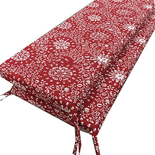ANQI Extra Long Bench Cushion Padded Garden Patio Rattan Chair Pad Canopy Swing Cover for Sun Lounger Indoor Outdoor Kitchen Dining Seat Mat 30X120cm