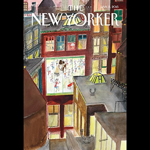 The New Yorker, January 5th 2015 (Andrew Marantz, David Sedaris, Louis Menand) copertina