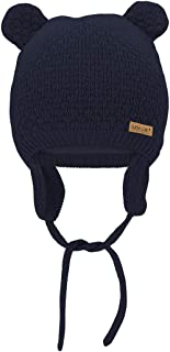 Durio Baby Girl Winter Hats Knitted Baby Beanie Cute Beanie Hat Soft Warm Lined Earflap Toddler Hats