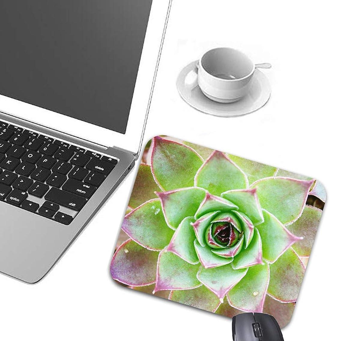 Mouse Pads Succulents Bouquet Natural Mouse Mat Game Office Accessory Desktop