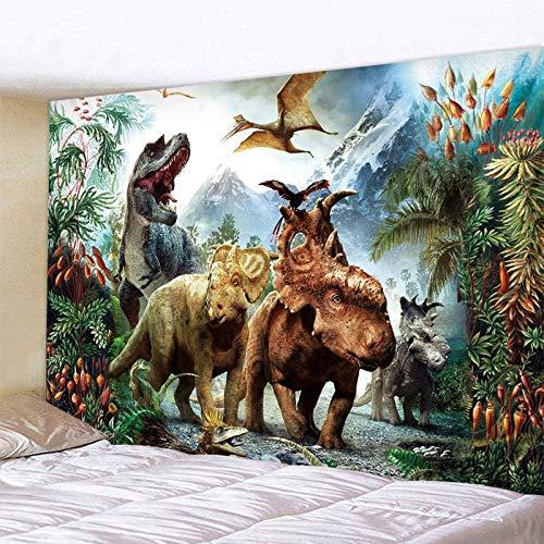 Tapiz de dinosaurio montado en la pared para decoración del hogar, toalla de playa, esterilla de yoga, manta, mantel, manta de pared