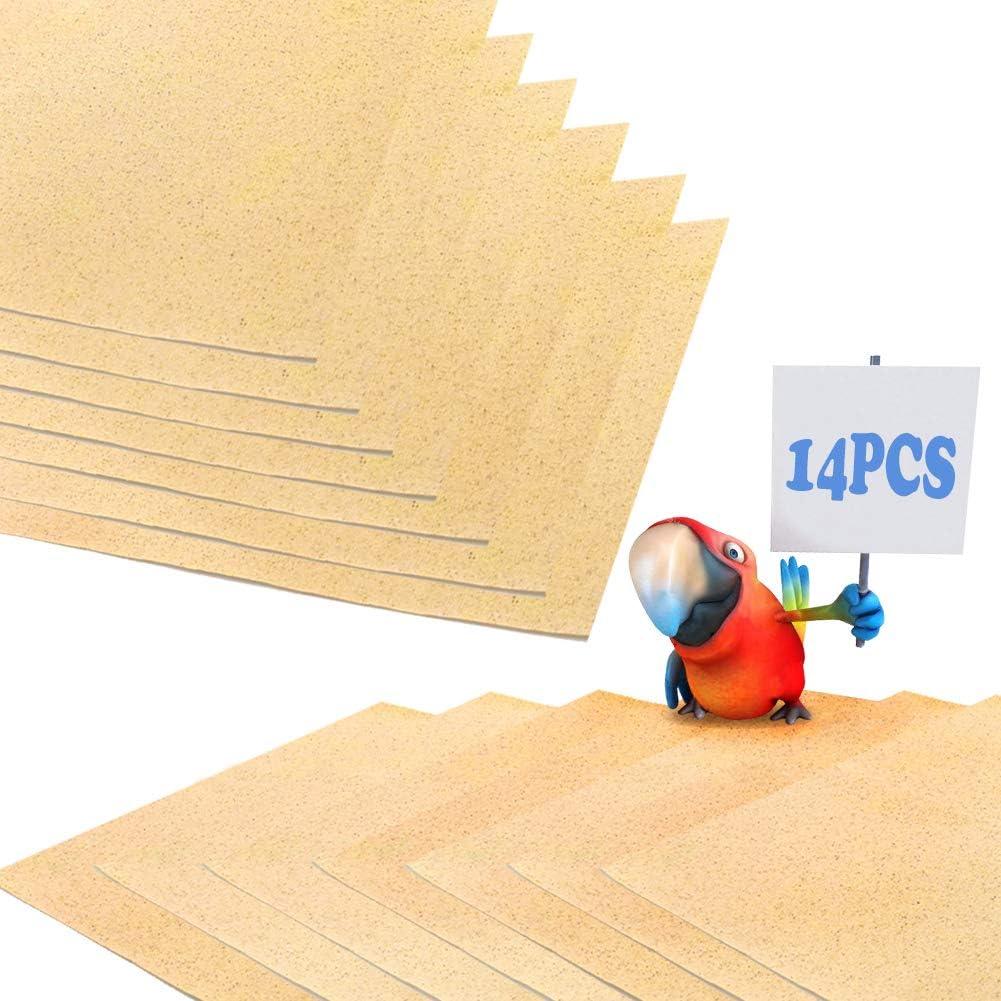 FLYING TIGER 14 PCS Gravel half cage for Paper Liner Bird online shop