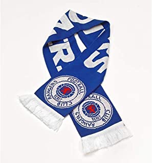 rangers football scarf