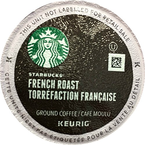 Starbucks French Roast, K-Cup for Keurig Brewers, 54 Count