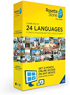Rosetta Stone: Learn a Language for 12 Months - Choose from 24 Languages [Key Card]