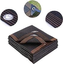 KKJKK Paño de la Cortina Protector Solar Malla de Sombreo 95% Resistente A Los UV Malla Lona Toldo de Protección Solar Pabellón para Invernadero Flores Plantas Al Aire Libre Patio,Negro,4x10m
