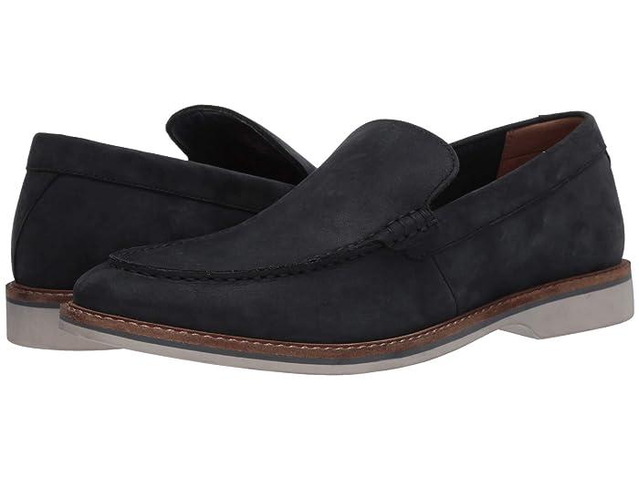 Clarks  Atticus Edge (Navy Nubuck) Mens Shoes