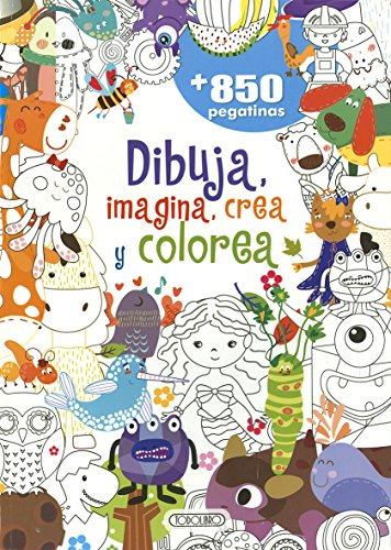 Dibuja, Imagina, Crea y Colorea